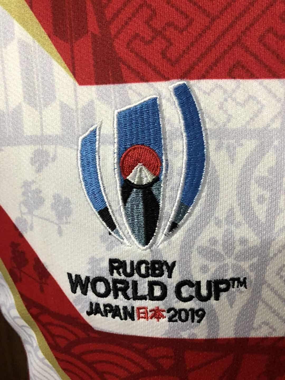 Coppa del Mondo di Rugby 2019 Polo da Calcio della Maglia da Calcio CCC Giappone Manica da Concorso per Tifosi Whinop-x Maglietta della Squadra Giapponese Polo dei Tifosi