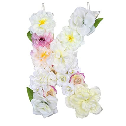Amazon Com Darongfeng Handmade Diy Flower Letters Made With