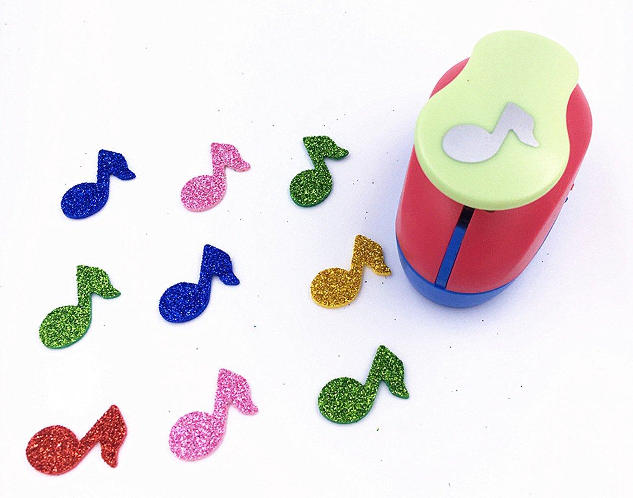 "Snowflake TECH-P Creative Life Size 1/"" Multi-Pattern Hand Press Album Cards Paper Craft Punch,Card Scrapbooking Engraving Kid Cut DIY Handmade Hole Puncher."