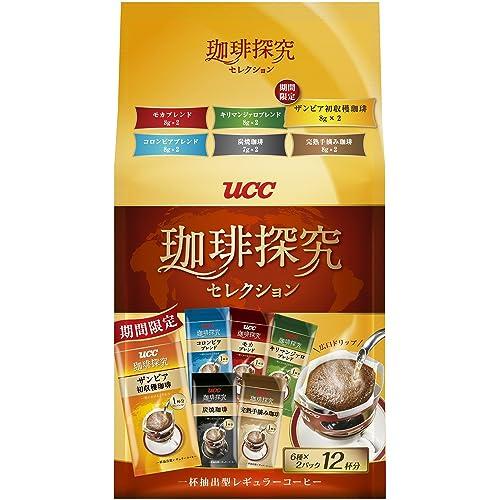 UCC 珈琲探究 セレクション 12P 94g