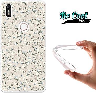 BeCool® Fun - Funda Gel Flexible para Bq Aquaris X5 Plus,Carcasa ...