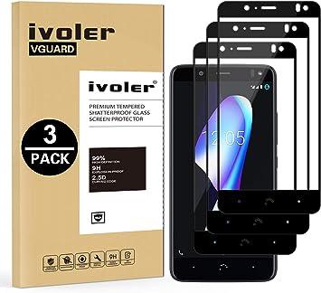 ivoler [3 Unidades] Protector de Pantalla para BQ Aquaris V/VS / U2 / U2 Lite, [Cobertura Completa] Cristal Vidrio Templado Premium, [Dureza 9H] [Anti-Arañazos] [Sin Burbujas]: Amazon.es: Electrónica