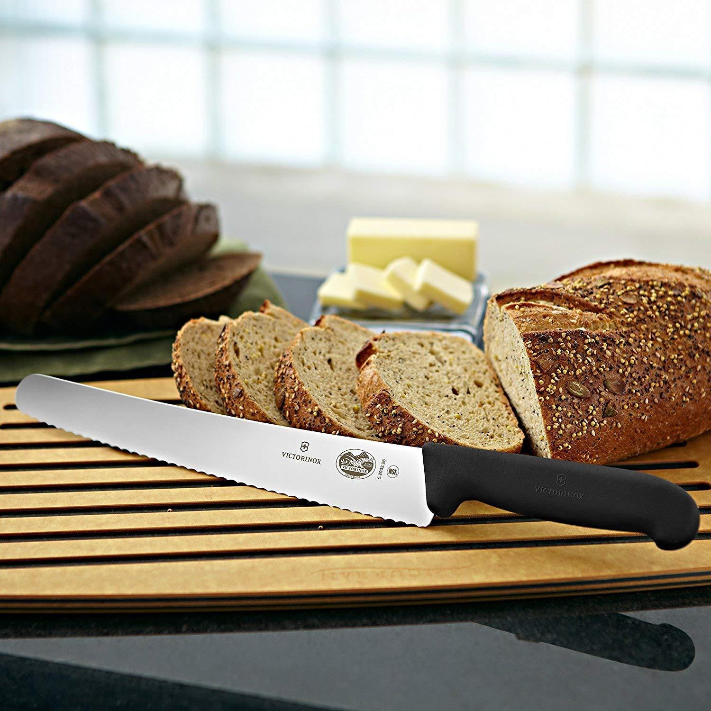 Amazon.com: Victorinox - Cuchillo de pan de 10,25 pulgadas ...