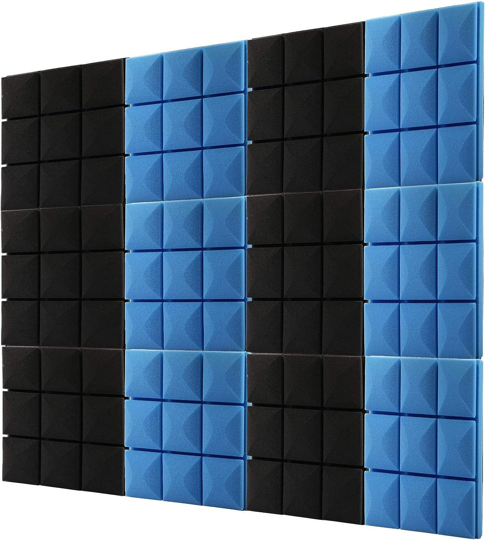 12 PCS Thick Acoustic Foam Panel(12