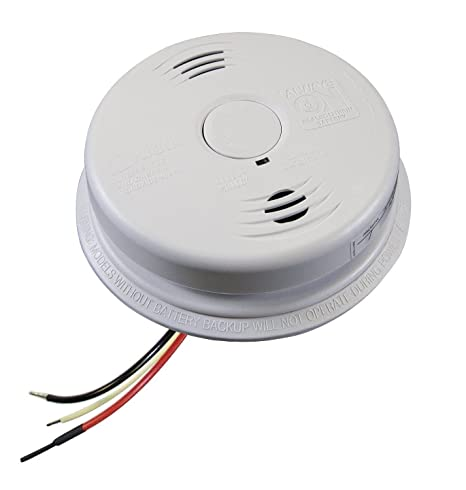 Worry-Free Hardwired Smoke & Carbon Monoxide Alarm with Lithium Battery Backup I12010SCO