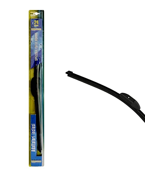 Melchioni 360007512 cepillo Limpiaparabrisas se goma con spoiler 24, 600 mm