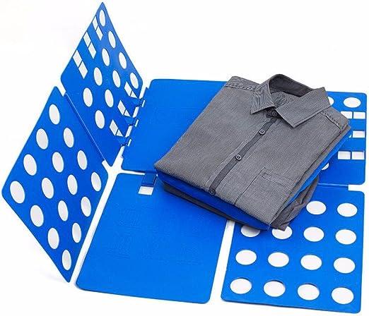 Nifogo Faltbrett T-Shirt Folder,T-Shirt Veranstalter Magic Fast Organizer Fold W/äSche Organizer Schrank Organizer Essentials Sparen Sie Raum Falten Pr/äVention