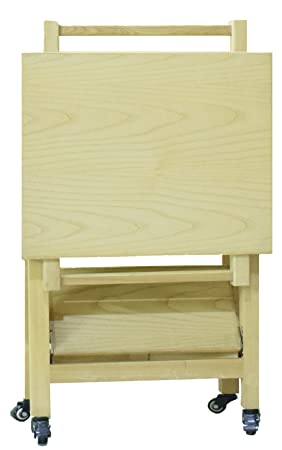 Mod-Bit Utileco White Ash Serving Trolley (PU)