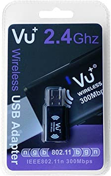 Vu+ - Adaptador de Red USB, Negro