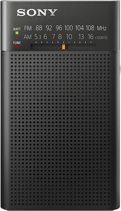 Oferta amazon: Sony ICF-P26 - Radio portátil (con Altavoz y sintonizador Am/FM), Negro