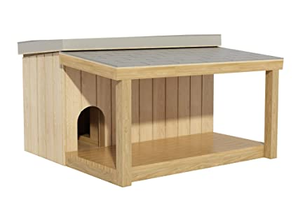Amazon Com Dog House Plans Diy Large Outdoor Wooden Pet Kennel
