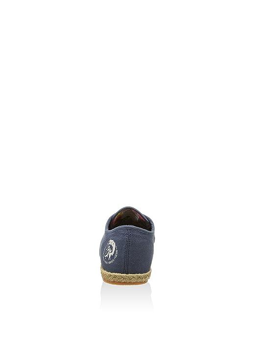 Diesel Alpargatas Tejido Azul Marino EU 44: Amazon.es: Zapatos y complementos