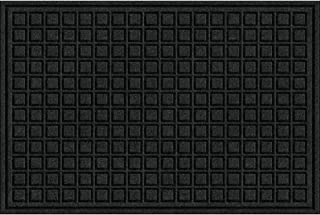 product image for Textures Blocks Entrance Door Mat, 2-Feet by 3-Feet, Onyx