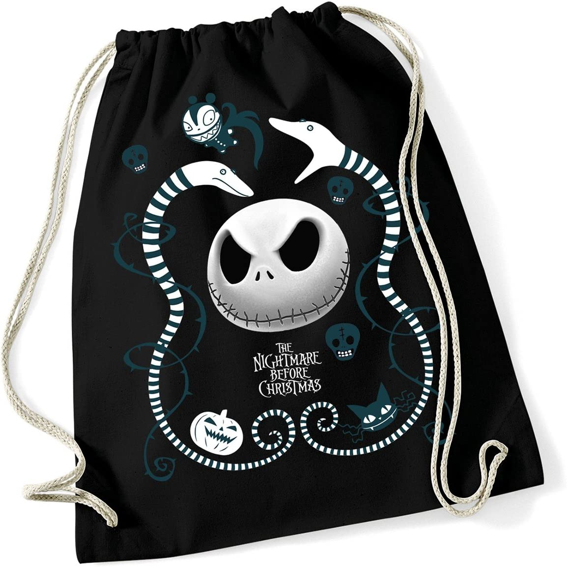 The Nightmare Before Christmas Snake Charmer Turn Bolsa Negro, Color Negro, tamaño Talla única: Amazon.es: Deportes y aire libre