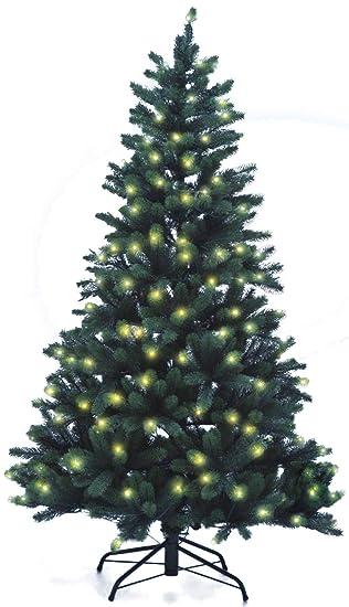 Künstlicher Weihnachtsbaum Mit Licht.Lönartz Naturgetreuer Künstlicher Weihnachtsbaum Pe Spritzguss Mit Beleuchtung 222 Leds 10w Höhe 180cm ø110cm Pe Bm180