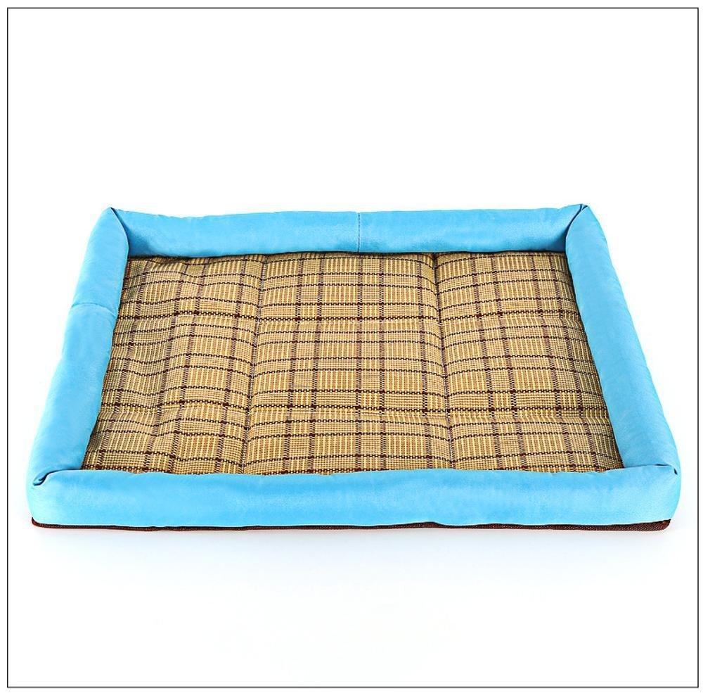 BiuTeFang Pet Bolster Dog Bed Comfort Dog Mat Pet Padded mat wearable cat dog Universal mat