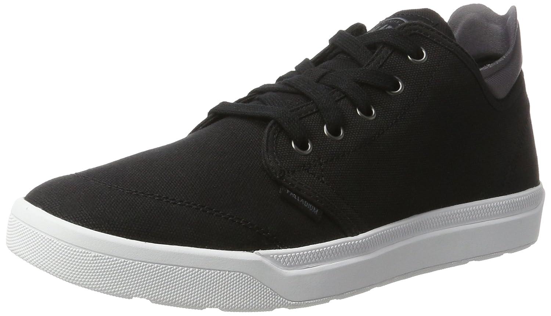 Palladium Herren Desrue Low Sneaker  45 EU|Schwarz (Black/Castlerock/White)
