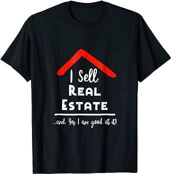 This Girl Sells Real Estate Women V-Neck Short Sleeve T-Shirt