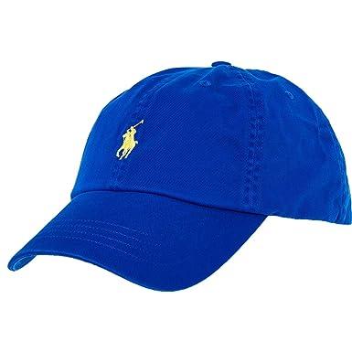 Polo Ralph Lauren - Gorra de béisbol - para Hombre Azul Azul Real Taille Unique: Amazon.es: Ropa y accesorios