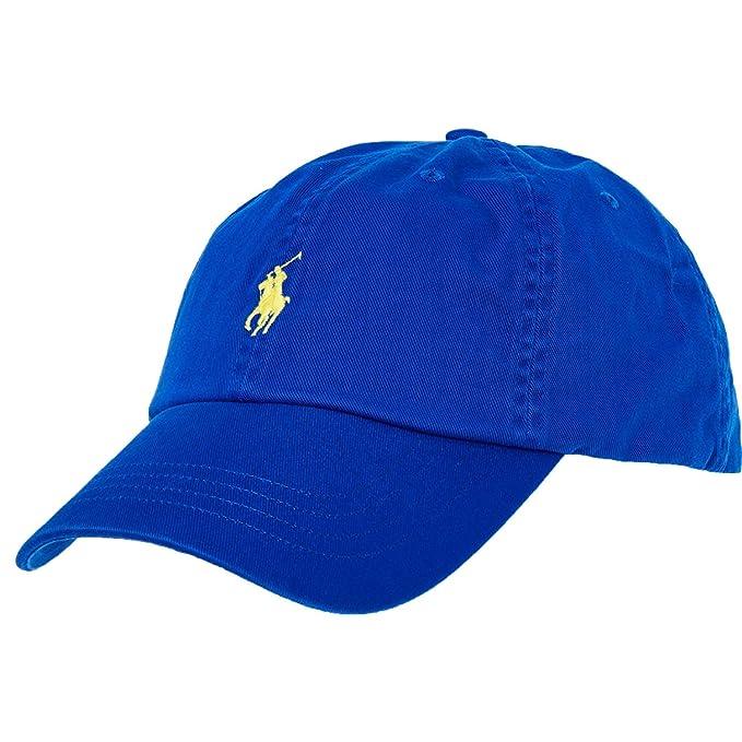 Polo Ralph Lauren - Gorra de béisbol - para Hombre Azul Azul Real ...