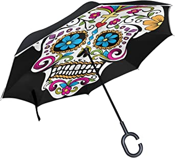Parapluie tête de mort 6