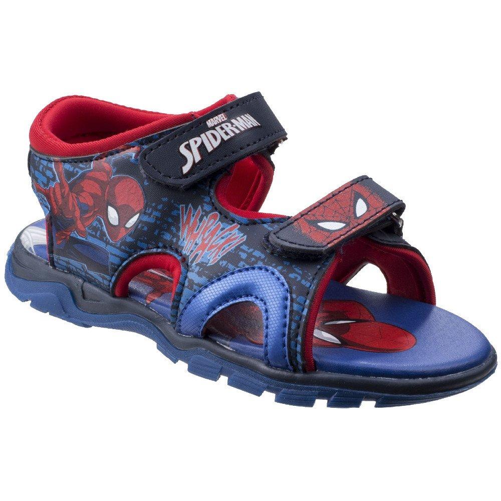 Leomil Boys & Girls Spiderman Adjustable Lightweight Sporty Sandals