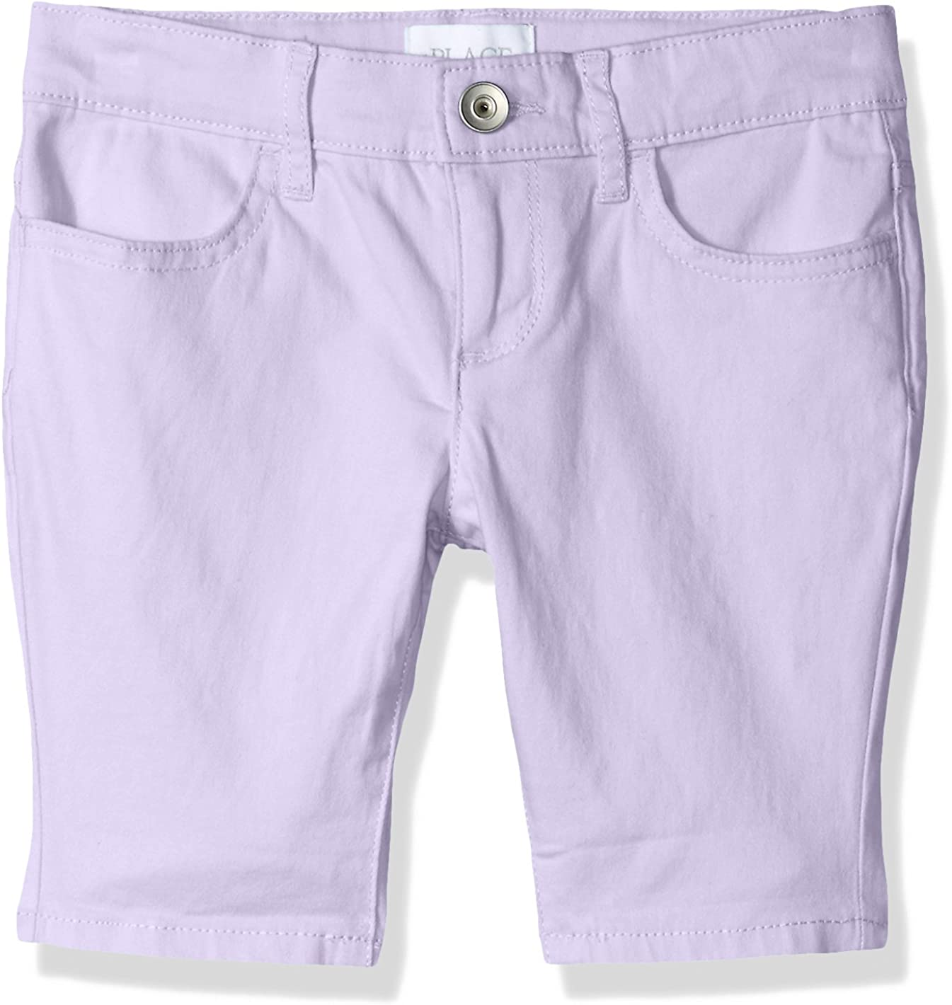 The Children/'s Place Toddler Girl Active Solid Rolled Cuff Pants Crystal Pink