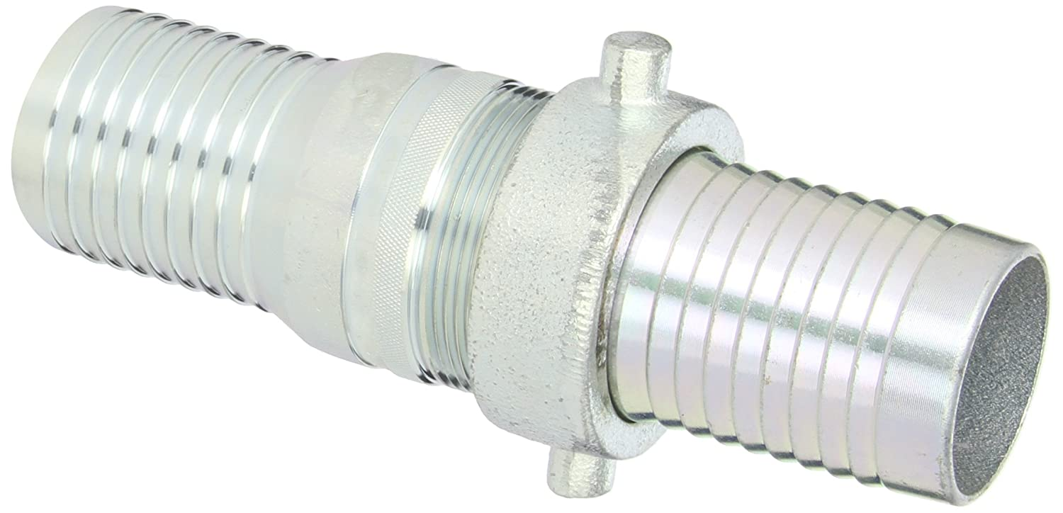 2 NPSM Female x 2 Hose ID Barbed 2 NPSM Female x 2 Hose ID Barbed Dixon Valve /& Coupling Dixon FAB200 Aluminum Hose Fitting King Short Shank Suction Coupling with Brass Nut