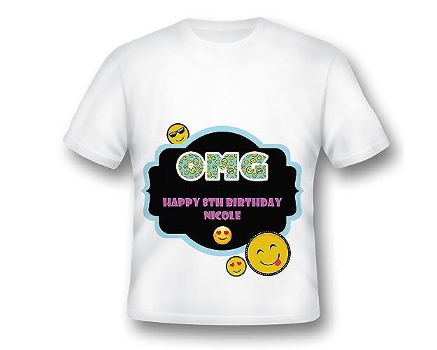 Custom Emoji Birthday Party Shirt