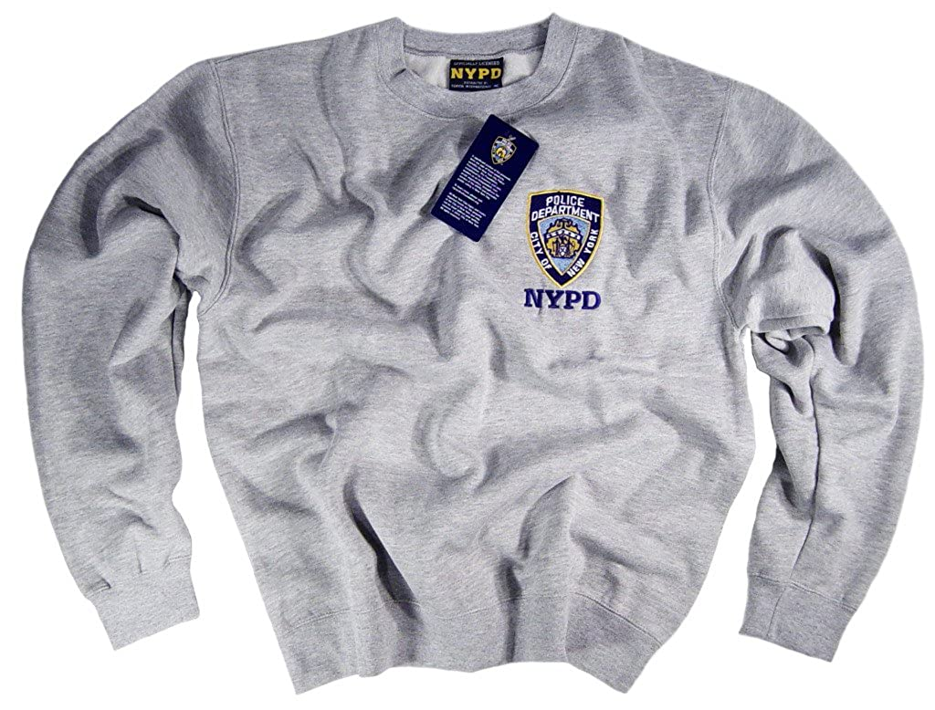 NYPD Felpa Maglietta Authentic Apparel Clothing licenza ufficiale dal New York City Police Department