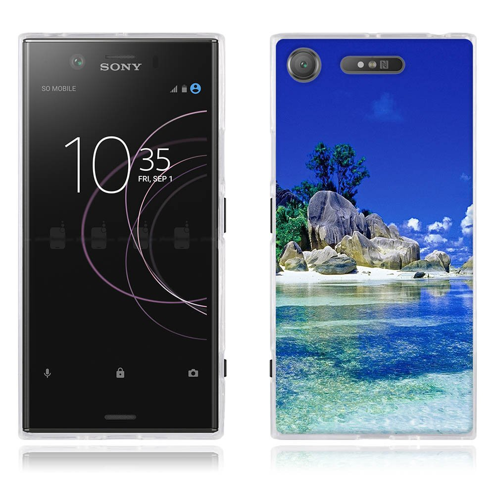 big sale 08f1e 76dfe Sony Xperia XZ1 Cover, TOMYOU Full-Body Protective Case, Flexible Inner  Protection and Soft Bumper Frame for Sony Xperia XZ1