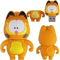 Pen drive 32Gb Garfield Desenho Infantil Chaveiro USB 2.0