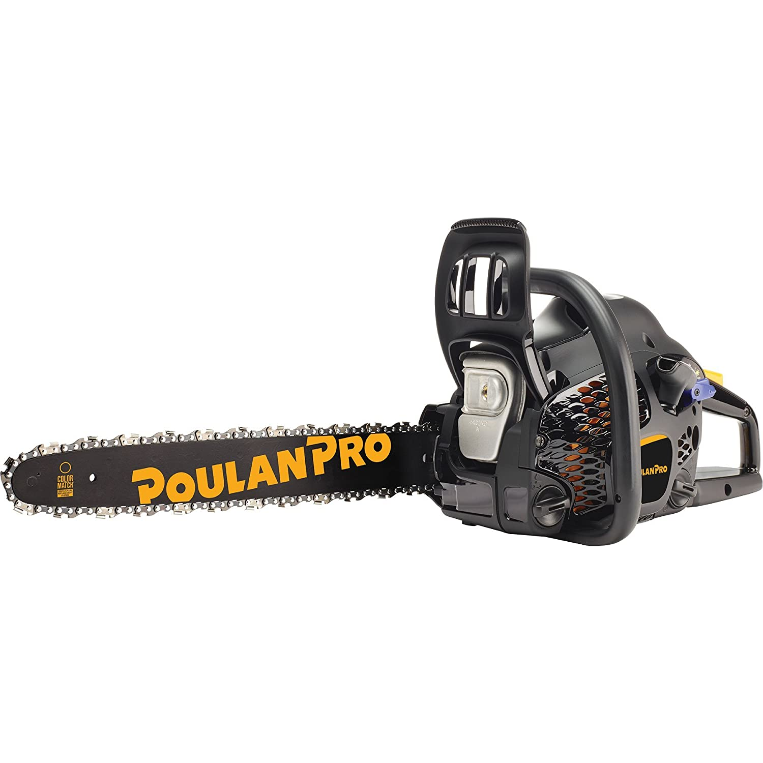 Amazon Com Poulan Pro 18 Inch 2 Cycle Gas Chainsaw Certified