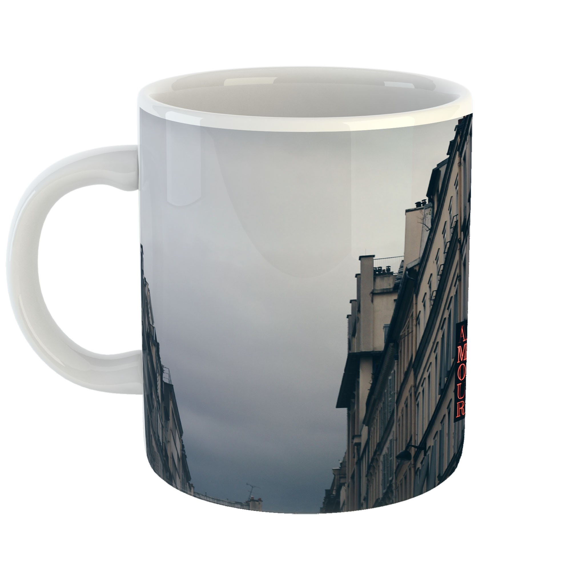 Westlake Art - Hotel France - 11oz Coffee Cup Mug - Modern Picture Photography Artwork Home Office Birthday Gift - 11 Ounce (FEE4-BD646)