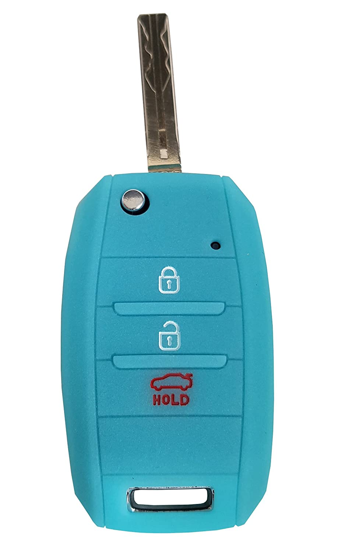 CK Kia Ceed Picanto Silicone Car Key Case//Key Cover Case Cover for Rio Optima Carens