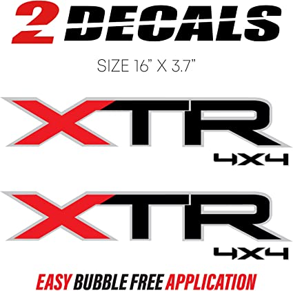 2X 2014 Ford F150 FX4 Off Road Decals F OffRoad Stickers Truck Bed Side Set of 2