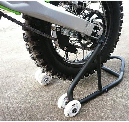 Amazon Com Black Rear Wheel Motorcycle Stand Dirt Pit Bike Stand Swingarm Lift Stand Car Electronics