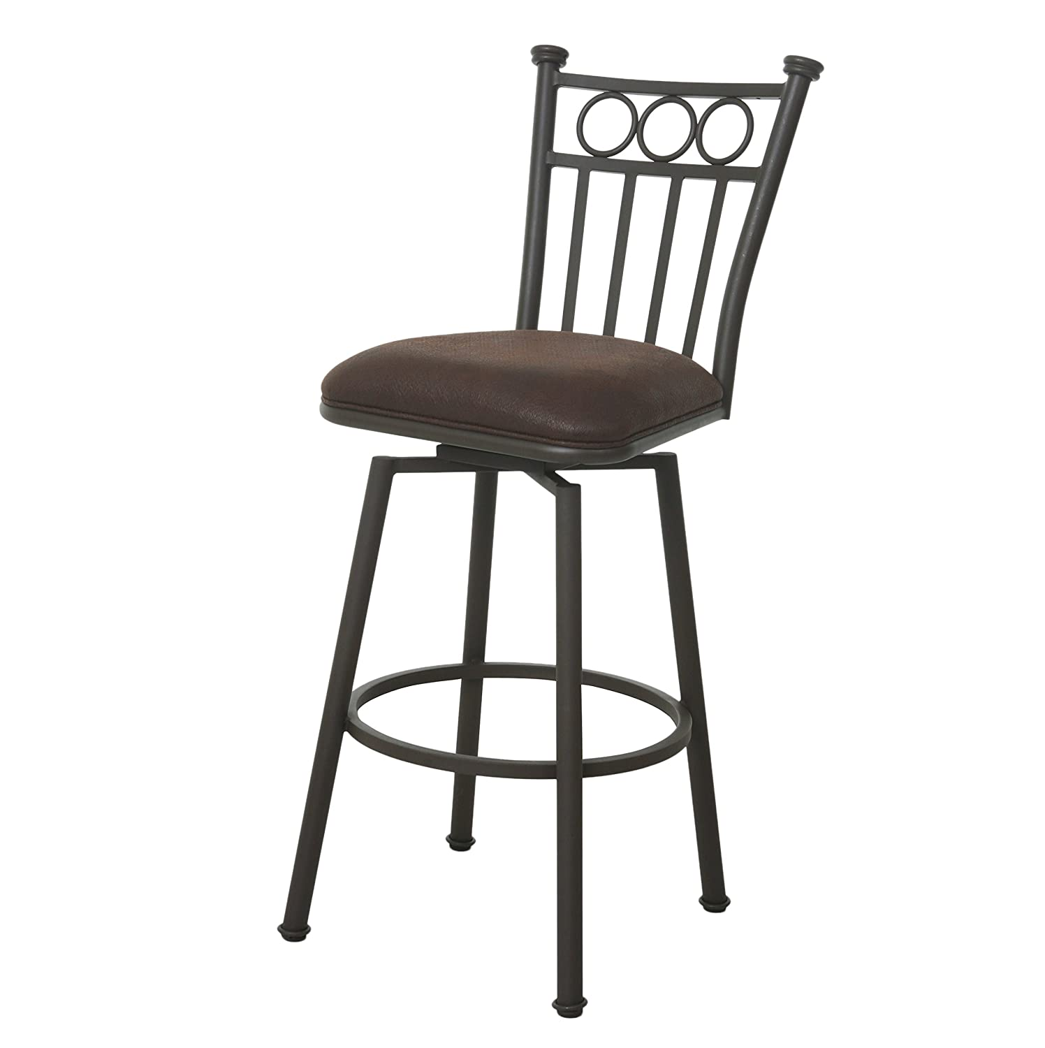 Impacterra QLBO249218097 Bostonian II Bar Stool Bronze