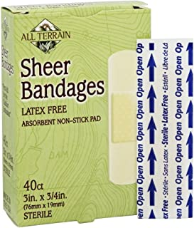 product image for All Terrain, Bandage Sheer 3/4 X 3, 40 Count