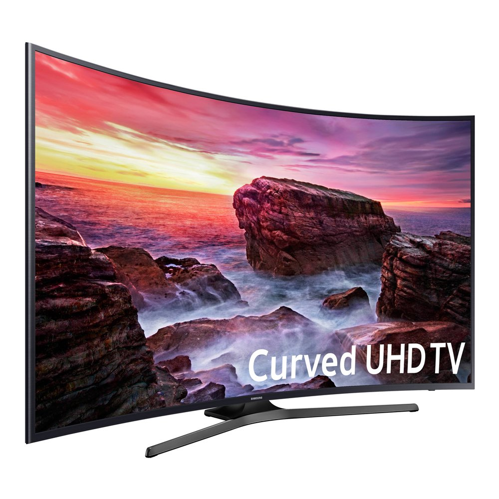 SAMSUNG LED Curved 4K 120 MR Full Web, 55'' (Refurbished)