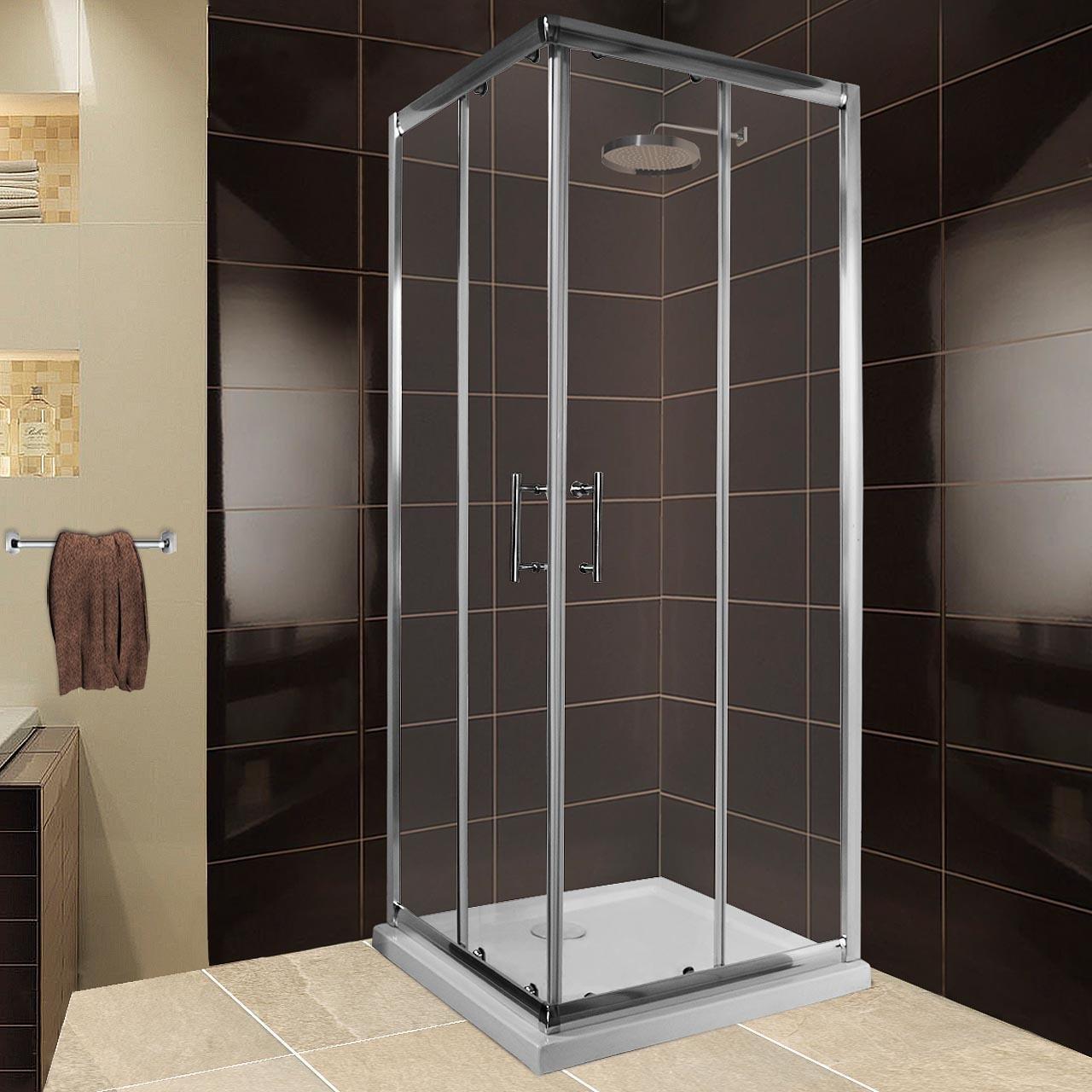 Cabina de ducha de esquina de Homelux, modelo SDN; cristal de ...