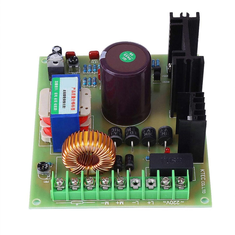 modulo di controllo della velocit/à del motore DC PWM ad alta potenza 220V 750W per smerigliatrici Magnete permanente Motore a 2 fili Eccitazione Motore a 4 fili CC Scheda di controllo del motore