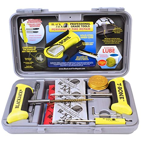 Tire Repair Near Me Open Sunday >> Black Jack Tire Repair Truck Repair Kit W 35 Rep