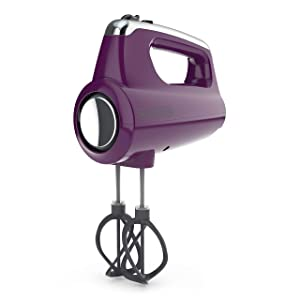 BLACK+DECKER MX600P Helix Performance Premium 5-Speed Hand Mixer Purple