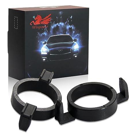 Win Power H7 LED Base de la bombilla Clips Adaptador Poseedor Anticipo Apoyo Conversión Accesorios,