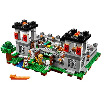 Amazon.com: LEGO Minecraft The Fortress 21127: Toys & Games