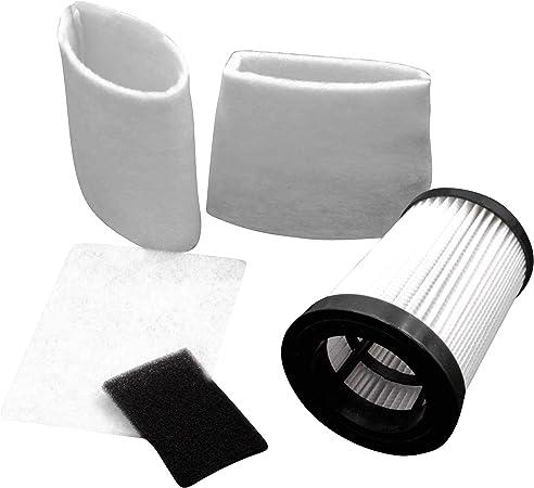 vhbw Set Hepa Filtro aspirador para aspiradoras Dirt Devil M2828-4, M2829-0, M2829-2: Amazon.es: Hogar
