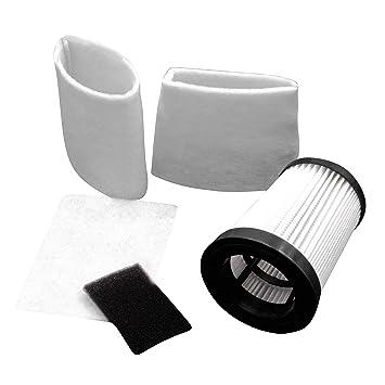 vhbw Set Hepa Filtro Aspirador para aspiradoras Dirt Devil M2828-4, M2829-0, M2829-2: Amazon.es: Electrónica