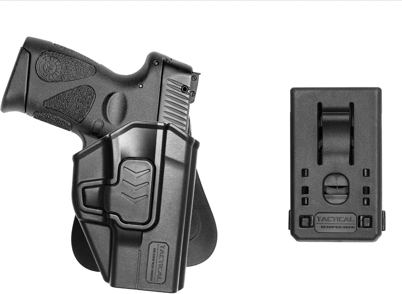 Fits Ruger LC9 Crimson Trace Lasermax Laser Details about  /Tactical Scorpion Paddle Holster