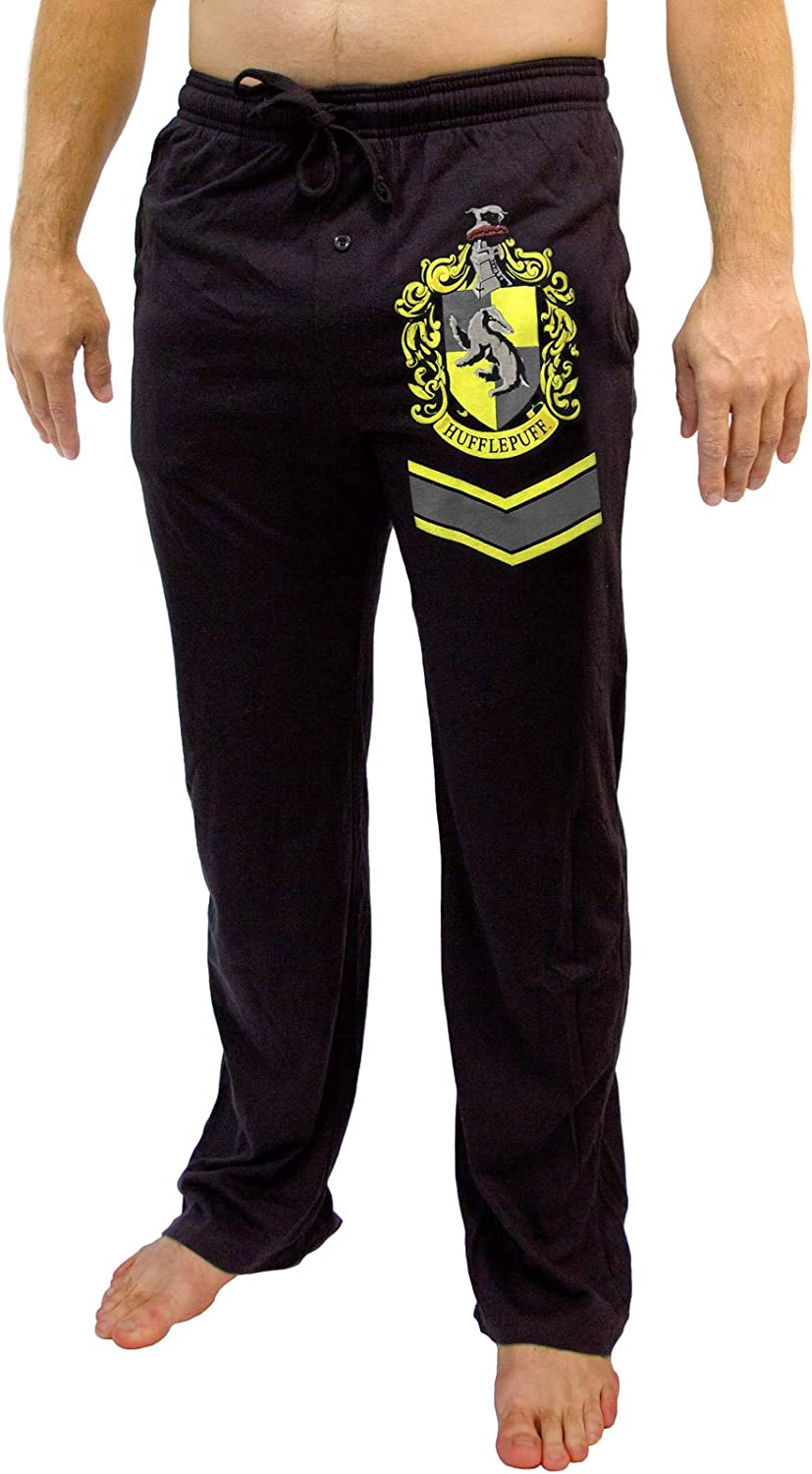 Harry Potter Hufflepuff Crest Lounge Pants